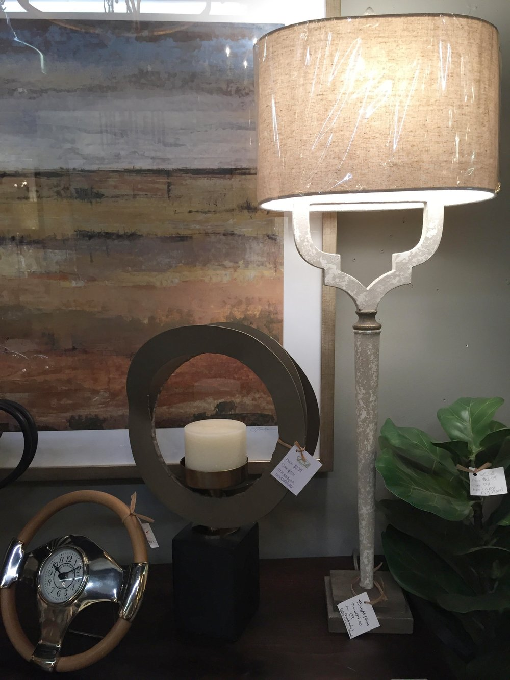 Tall Skinny Lamps - $284