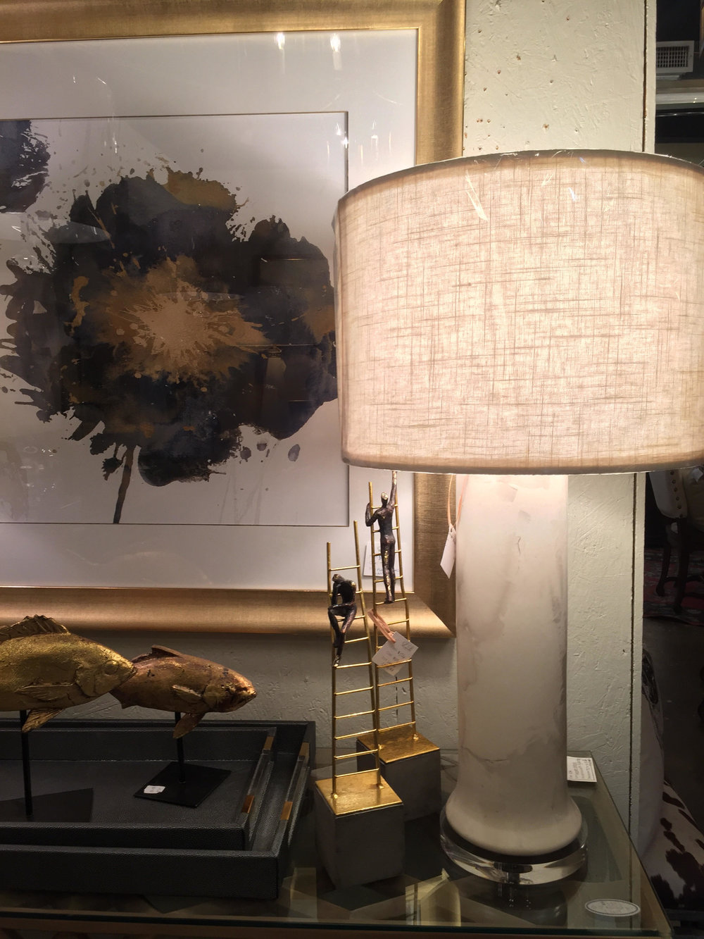 Marble Lamp - $348