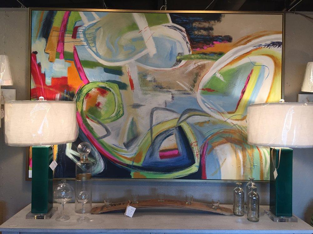 Fun Modern Painting - $629