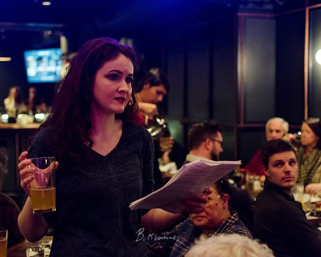 """""""Who born devoid of passion ne'er have prov'd The fierce Disputes 'twixt Virtue and Desire."""" 📸: @wtfotostyle  🍺: @smuttynosebeer  🎪: @pressroomnh  🎭: @7stagesshx    #portsmouthart  #theatre #shakesbeerience #youmissedout #wherewereyou #artshots does this count as #acting #itsacomedy #ithink #noonedies #doublefalsehood #youveprobablyneverheardofit #itshipster #andrifewithtoxicmasculinuty #antagonist I think #antagonist should be required on everything I post"""