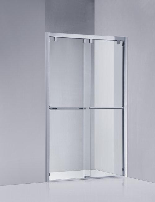 Framed Shower Door — CRYSTAL SHOWER GLASS