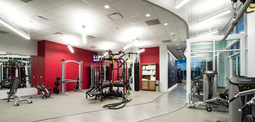 Fitness Center at Colorado Center workplace