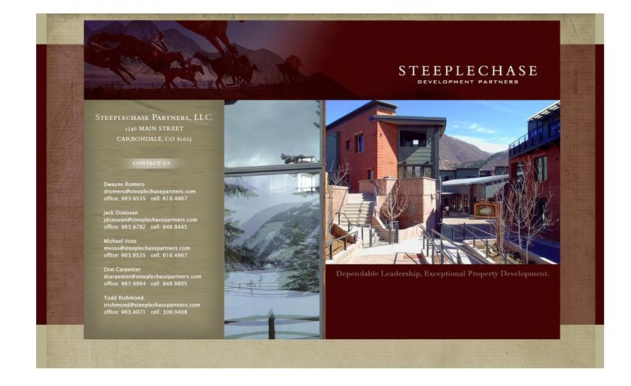Steeplechase Development Partners, Carbondale Colorado
