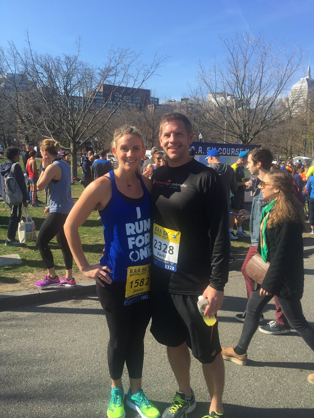 First Boston race!