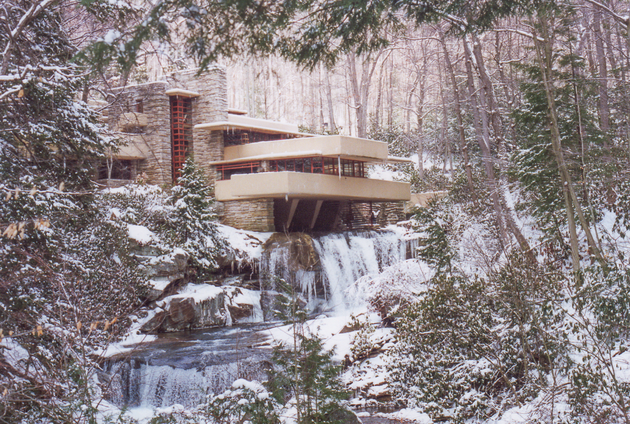 Fallingwater - Winter of 1997