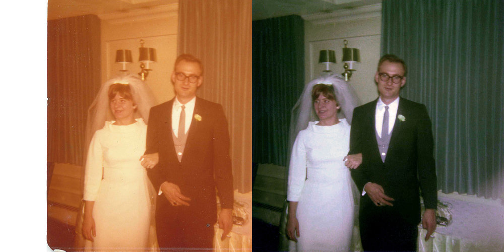 Ted and Carol - Before and after