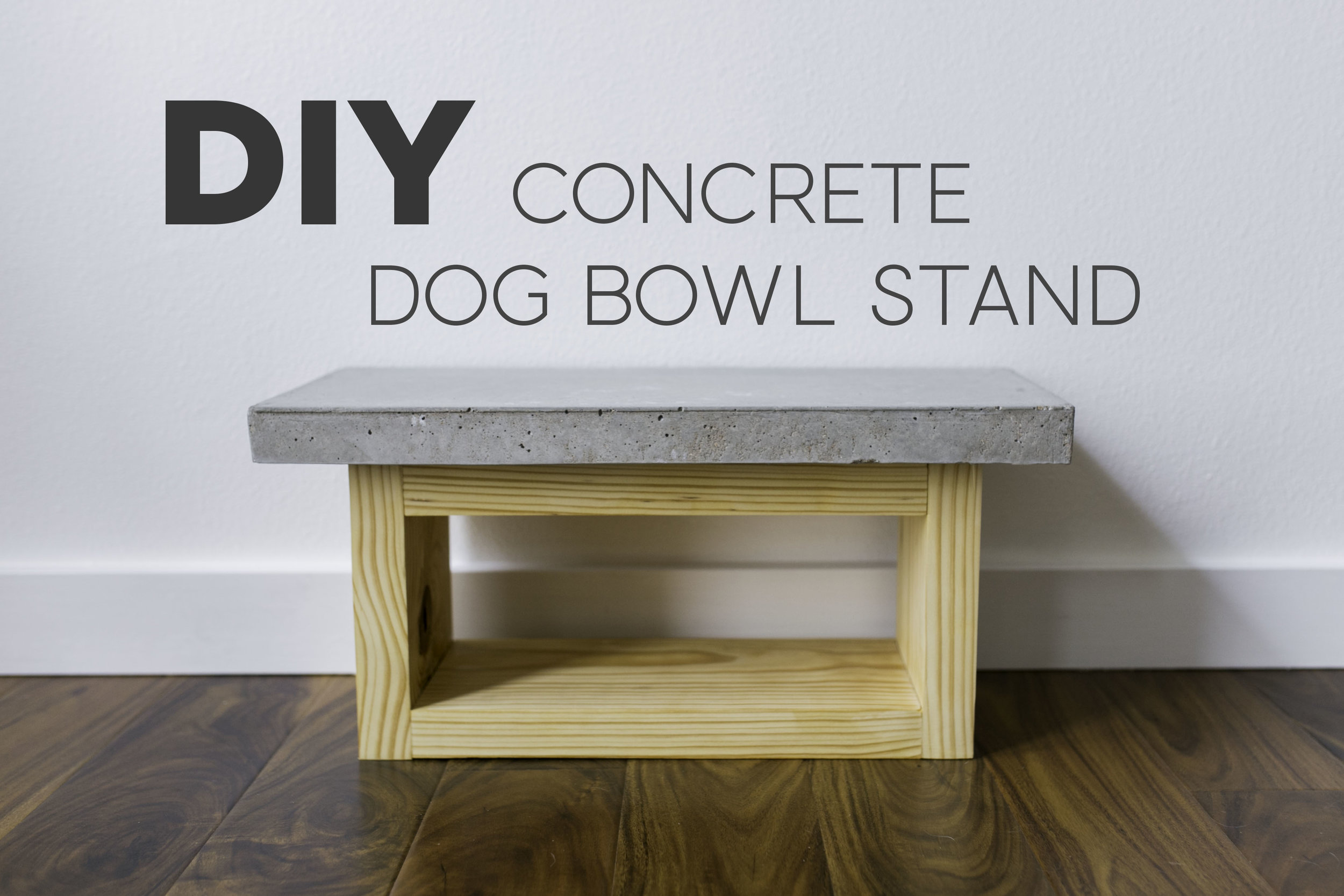 Making wooden bowls Painted Wood Diy Dog Bowl Stand Concrete amp Wood Harsh26diq Wordpresscom Diy Dog Bowl Stand Concrete Wood Maker Gray