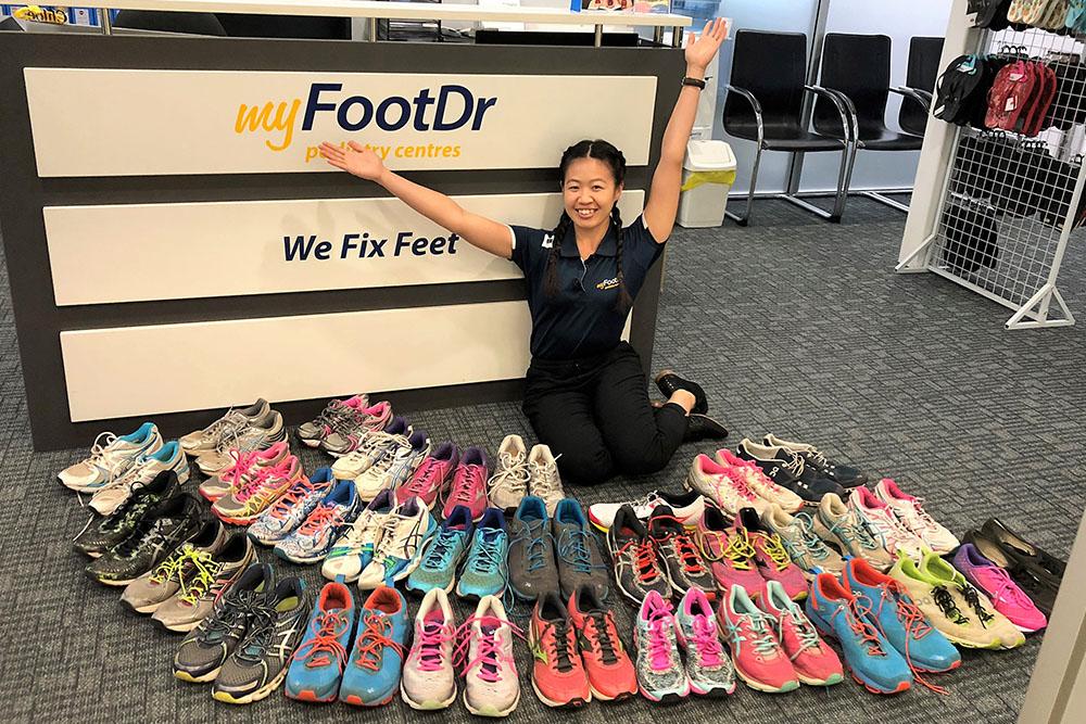 My FootDr Shoe Donation