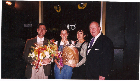 My opening night of Cats, June 1999. I did this instead of having another baby.