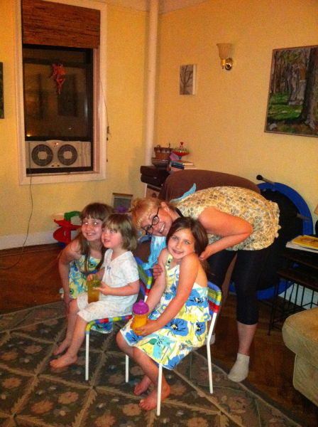 3:00 am, 104.8 temp, cousins, Sneaking Rudy. Help had arrived!