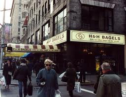 The famous H&H Bagels. Fat free and so 1993. Perfect.
