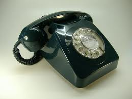 Not quite rotary phone, but close.