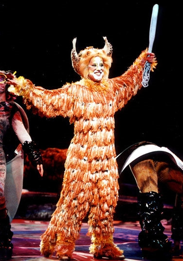 Jennyanydots in  Cats  at the Winter Garden Theater
