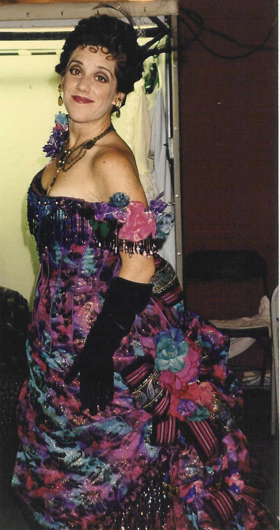 Madame Firmin in The Phantom of the Opera. 1997, I am pregnant in this picture!