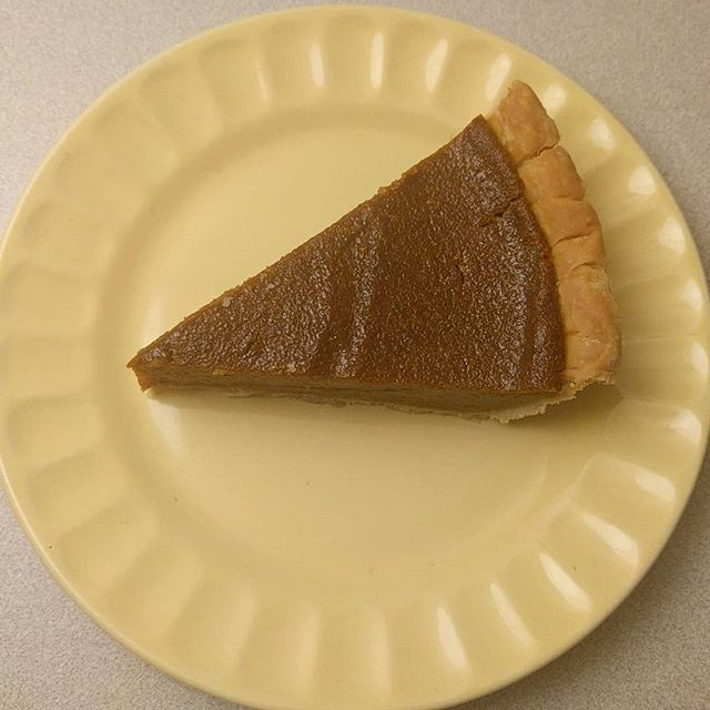 """There are so many things to be thankful for this Thanksgiving and I am thankful to find this recipe for vegan Pumpkin pie! It tastes no different than the recipes that use milk and eggs. The coconut milk gives it such a creamy consistency! It was amazing and incredibly simple. You just put all the ingredients in the blender and pour it into a pre-made pie shell and bake it for one hour. That's it! Here is the recipe!  1 3/4 cups (1, 14 oz can) pumpkin (not pumpkin pie filling) 3/4 cup full-fat coconut milk (the kind in a can, shaken well before measuring) 1/2 cup brown sugar 1/4 cup cornstarch 1/4 cup maple syrup 1 teaspoon vanilla extract 2 teaspoons Pumpkin Pie Spice 1/2 teaspoon cinnamon 1/2 teaspoon salt  Preheat your oven to 350F (180C). Add the pumpkin, coconut milk, brown sugar, cornstarch, maple syrup, vanilla extract, pumpkin pie spice, cinnamon and salt to a blender or a large bowl. Mix well.  Pour the pumpkin mixture into the uncooked 9"""" pie crust . Use a spatula to spread the pumpkin evenly. Bake for 60 minutes. When you remove it from the oven, the edges might be slightly cracked and the middle will still look wobbly. Let cool, and then chill in the fridge for a minimum of 4 hours or overnight until set.  #vegan #vegandessert #pumpkin #pumpkinpie #dessert #dairyfree #eggfree #delicious #plantbaseddiet #spice #cinnamon #simple #easydessert"""