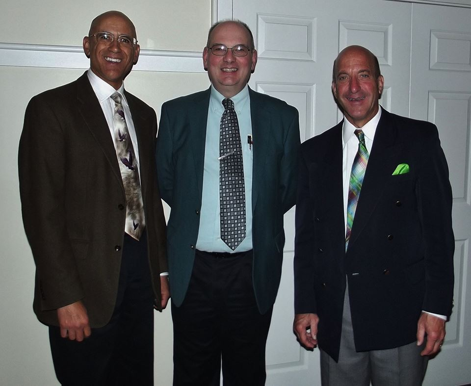 Evangelist Raul Pinto, Pastor Peter Laitress of Tri-State Bible Baptist Church
