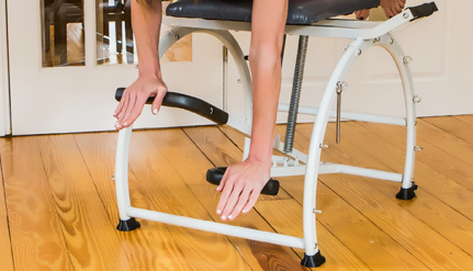 Split-Pedal - • Allows for reciprocal movement as in walking or climbing• Provides unilateral movement• Corrects muscular imbalances• Builds core stability