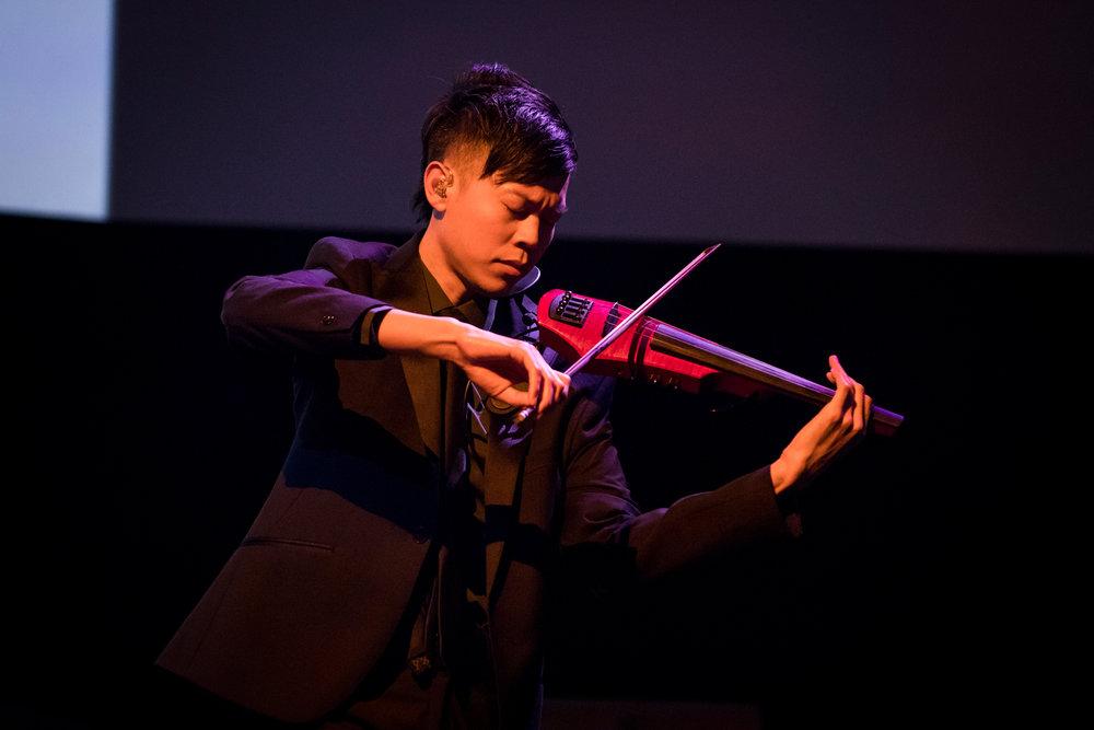 Jason Yang TED2017 Violin