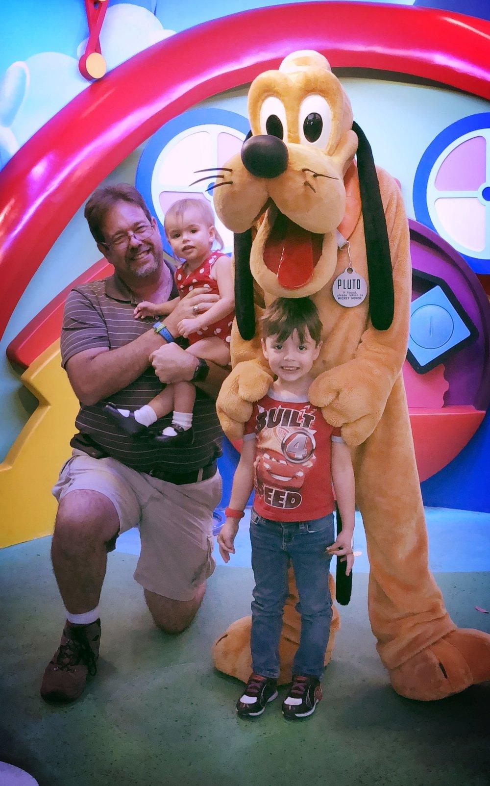 Disney World Hollywood Studios Pluto