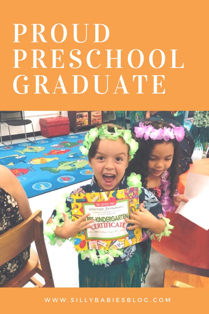 Proud Preschool Graduate