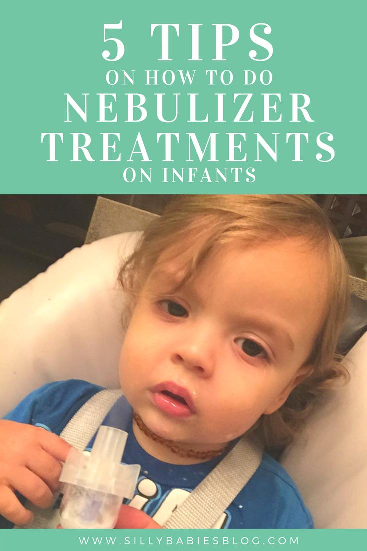 5 Tips to do Nebulizer Treatments on Infants