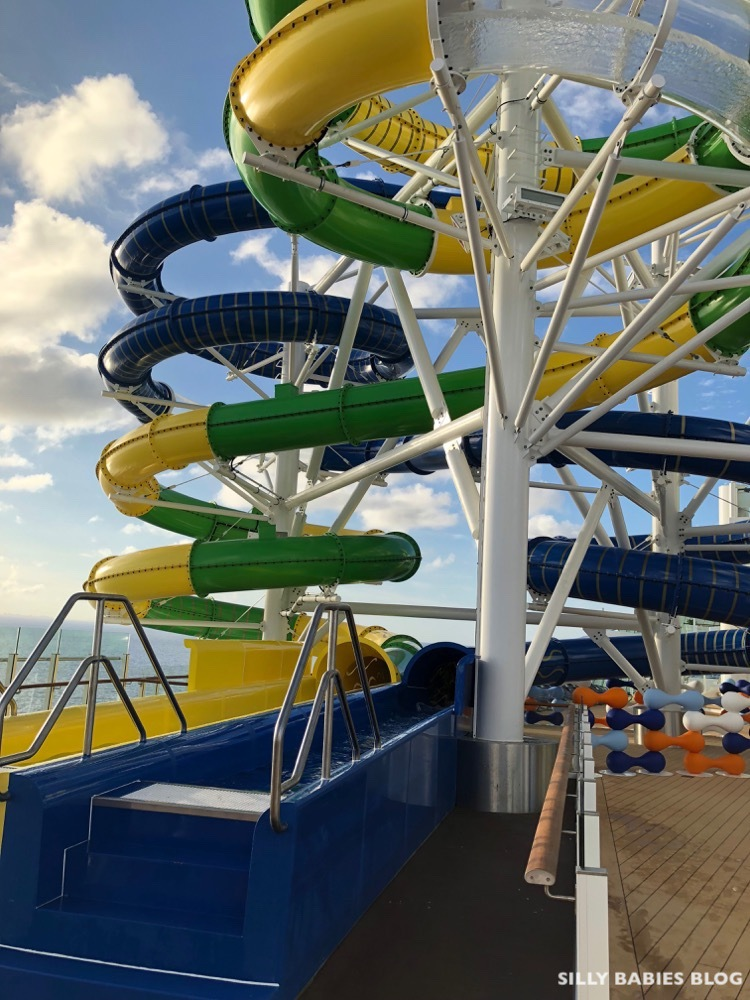 Mariner of the Seas Perfect Storm Water Slides