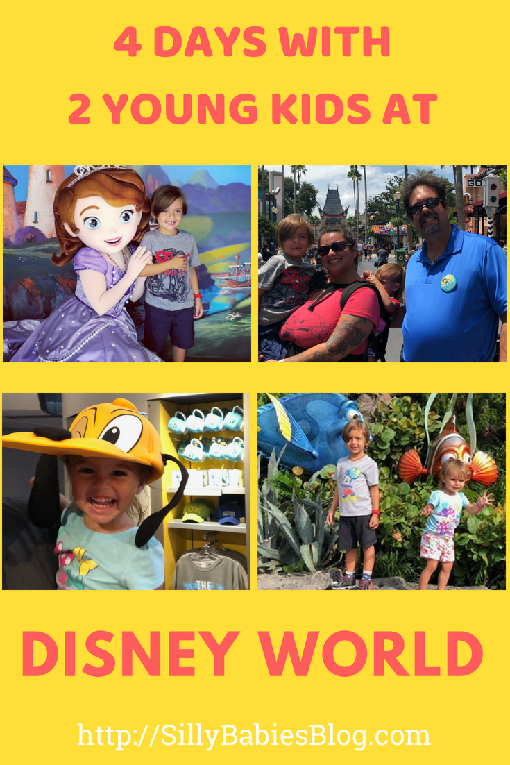 4 Days with 2 Young Kids at Disney World