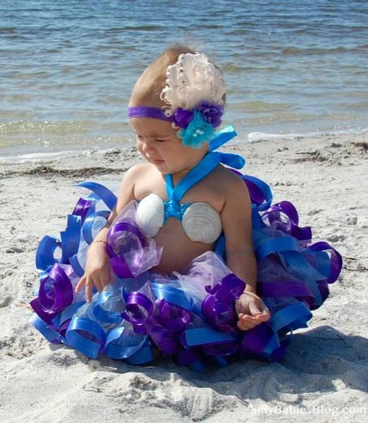 Madison's 1st Birthday Mermaid Outfit