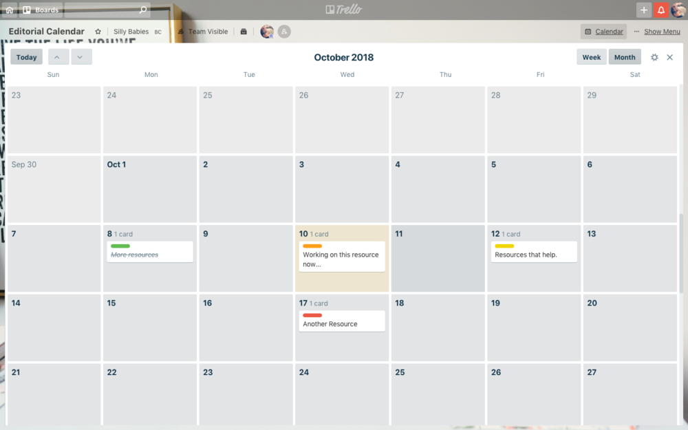 8 great Blogging resources that work for me - Trello
