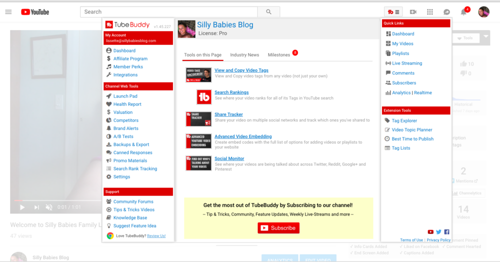 8 great Blogging resources that work for me - Tube Buddy