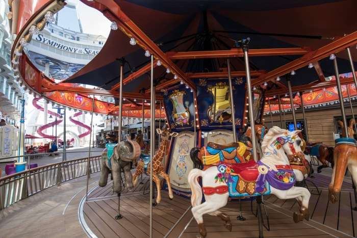 Royal Caribbean Symphony of the Seas Boardwalk Carousel