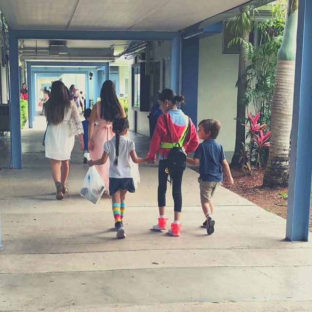 "It breaks my heart a little every time my son comes home and tells me there was a drill at school, ""in case a bad guy came on campus"". A little bit of his innocence is taken away when he realizes what a horrible world this is. Read more of my thoughts on the blog today. Link in profile. #momfessional #Parenting #Motherhood #Momof2 #MomLife https://buff.ly/2ROB4vb"