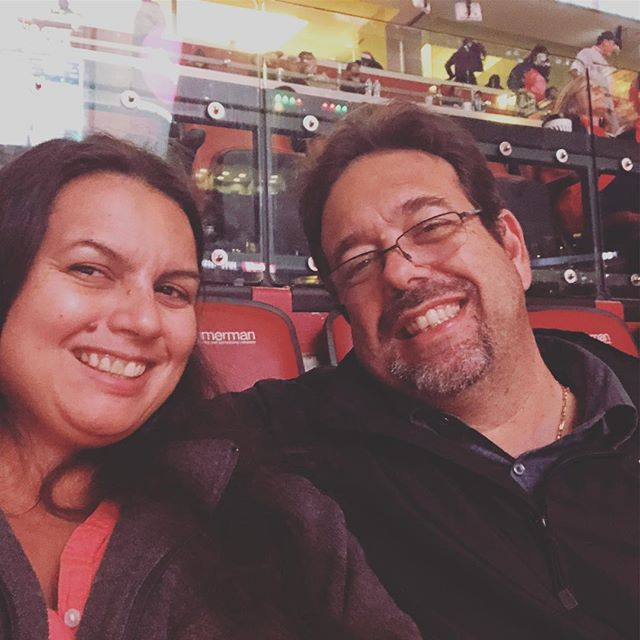 I get to enjoy a @flapanthers game tonight with my love. These are always so much fun!!! #datenight #flapanthers #oneterritory #momof2 #sillybabies