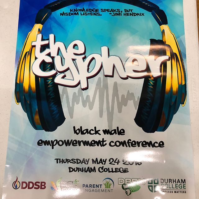 The Wilson Project had a great time today at The 2nd Annual Cypher: Black Male Empowerment Conference at @durhamcollege for students grade 8 to 10. It was a wonderful opportunity to provide insight, engage, and educate youth on the many resources and programs we provide that can help them navigate their futures. 👦🏿🧒🏾👦🏾 . It was truly inspiring to see so many bright, talented, and enthusiastic young men and community leaders come together for such a great cause. 🤝👏🏾 . A big thank you to the Durham District School Board for having us out and we look forward to contributing again next year. 📚👍🏾👊🏾 . . . #thewilsonproject #employmentandtrainingcentre #twp #twpetc #thecypher #blackyouth #ddsb #youth #mentorship #opportunities #training #education #programs #nonforprofit #future #brightertomorrow #community #payitforward #alllivesmatter #allyouthmatters #kencos #gta