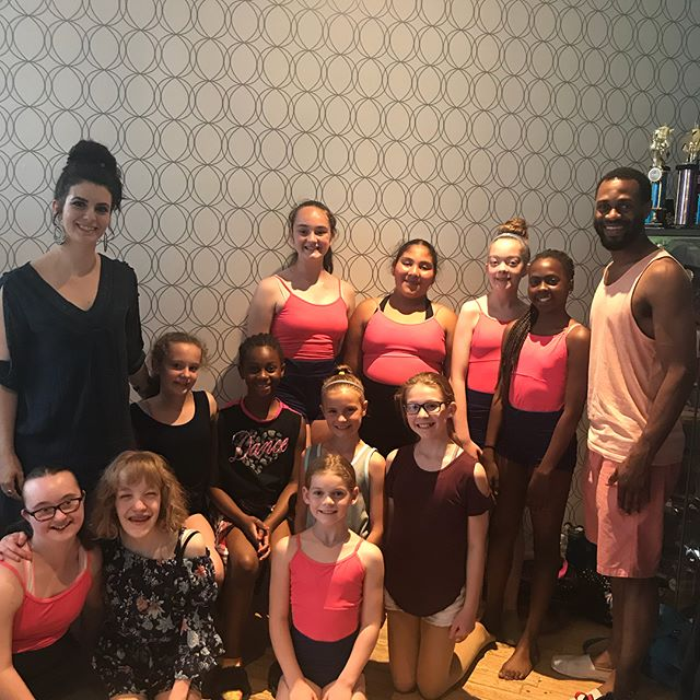 Using the energy from these wonderful young ladies to get us through this #humpday .🐫 . This year Ana Maria's Dance Academy graced our annual fundraiser with an absolutely incredible performance and we could not have been more pleased. 👯‍♀️👏📸 . Yesterday we went out to personally thank them, to get to know the ladies a little bit better, and to congratulate them on their new location in Whitby. 🏘👩‍👧‍👧 Inspirational and full of incredible talent, we look forward to supporting and promoting Ana-Maria's Dance Academy as she continues to develop these bright young ladies into the very successful dancers of tomorrow. If you are in the Whitby area, we suggest you check them out! 🙌💕👍 . . . #thewilsonproject #twp #employmentandtrainingcentre  #youth #mentorship #opportunities #training #education #programs #annualfundraisinggala #2018 #dancers #anamariasdanceacademy #inspirationalsteps #nonforprofit #future #brightertomorrow #community #payitforward #alllivesmatter #allyouthmatters #kencos #gta
