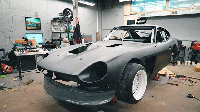 If you snowed in on this lovely Wednesday and need something to by pass the time go check out our latest video where we pick back up on the flare making process. Going to give you insight on how to make your own flares. #240z #Nissan #datsun #ferrari #ferrari360