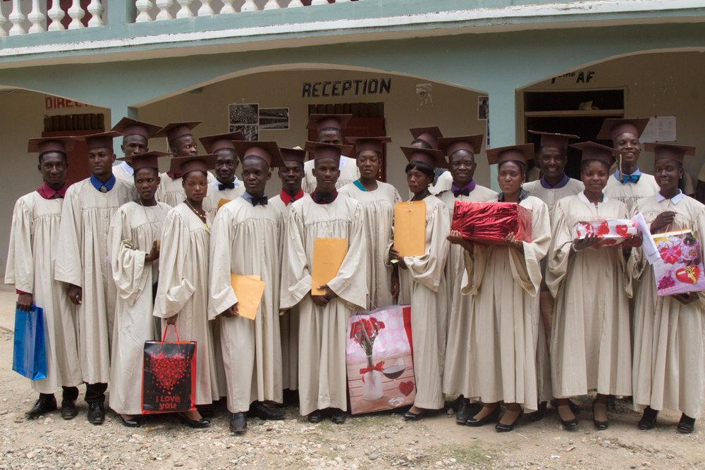 2017 First graduating class of St. Gabriel's