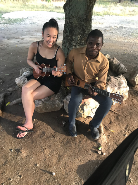 Awesome to play with Soniel, a local teacher and an amazing self-taught guitarist.