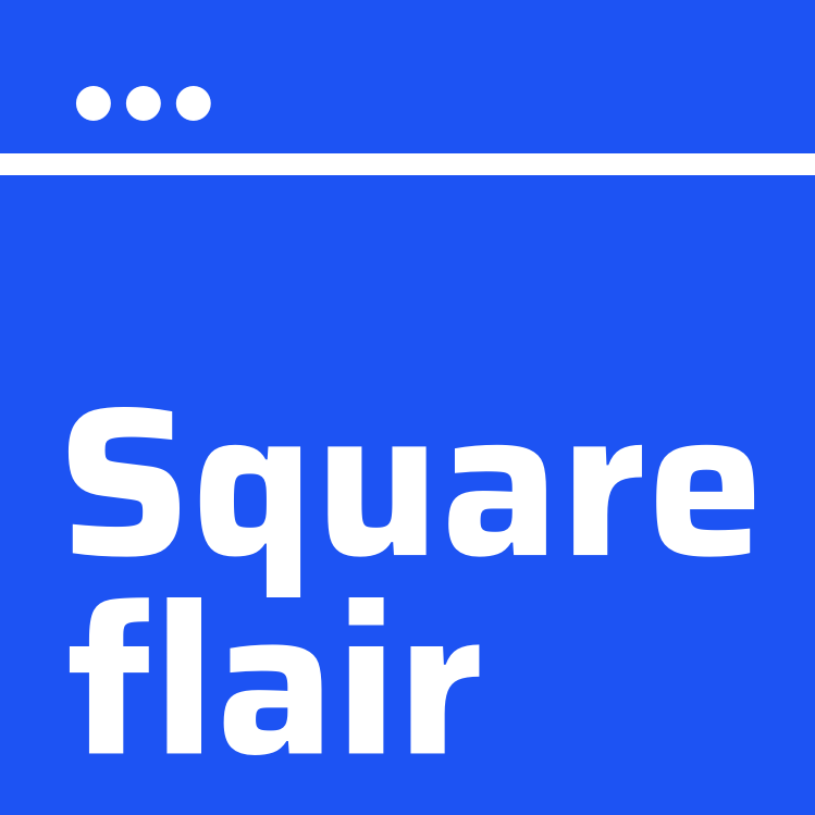Squareflair — Make free QR codes in 3 easy steps