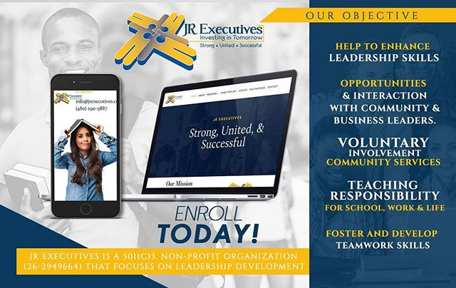 Visit our website! We're currently ENROLLING students. You will learn and be trained on proper Leadership Development! ➡️www.JRExecutives.com