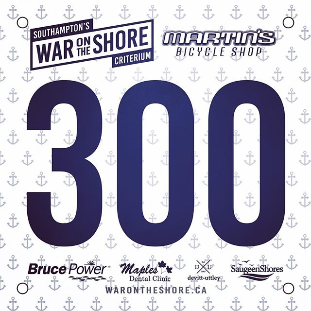 New number bibs for this year's race are tight!  #oca #southampton #criterium #saugeenshores