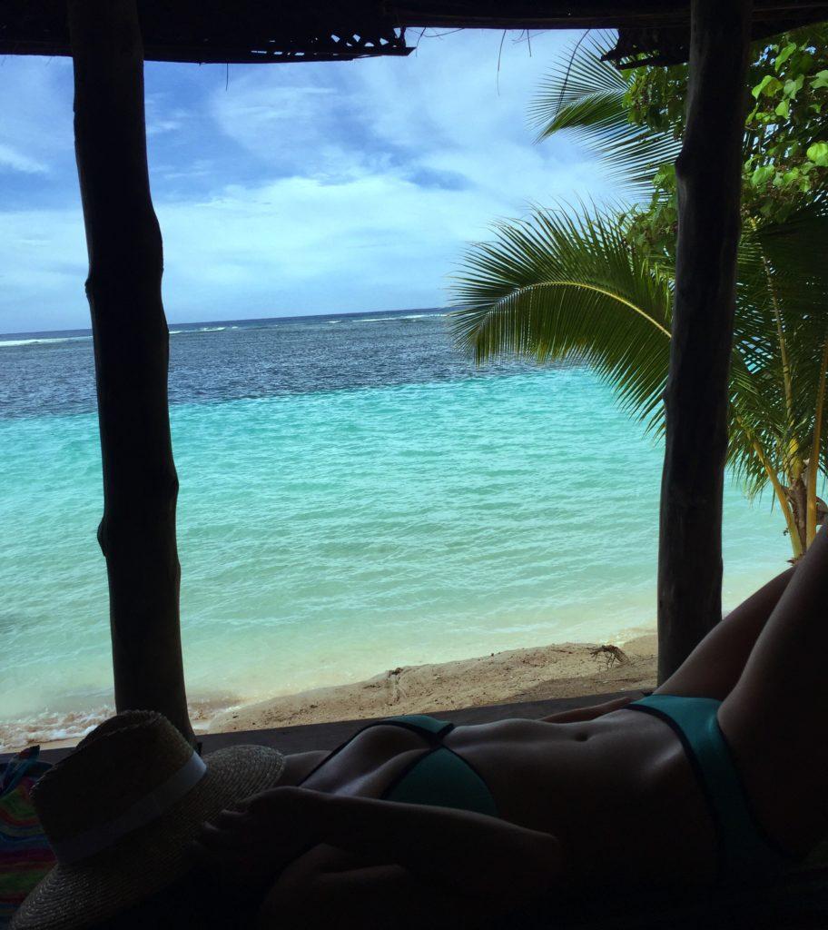 Savaii Samoa Beach fall
