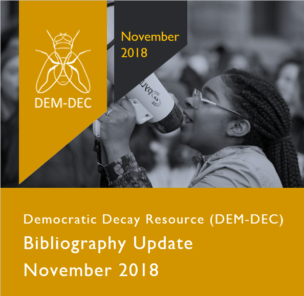 LATEST UPDATE JUST ISSUED - 5 November 2018 -