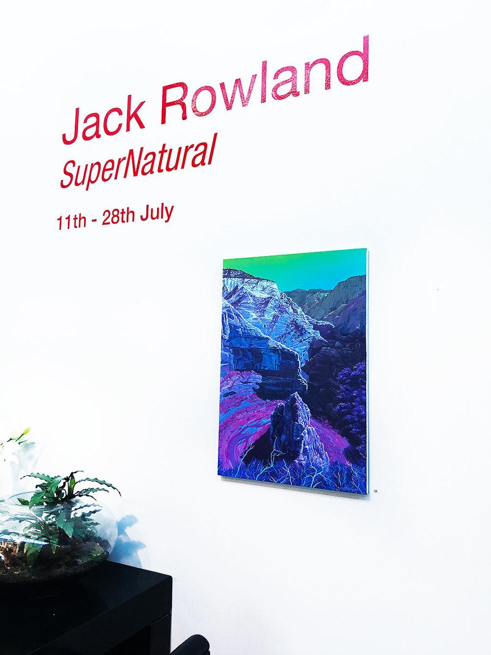 Jack Rowland -  Zion , Oil on linen 73 x 50 cm