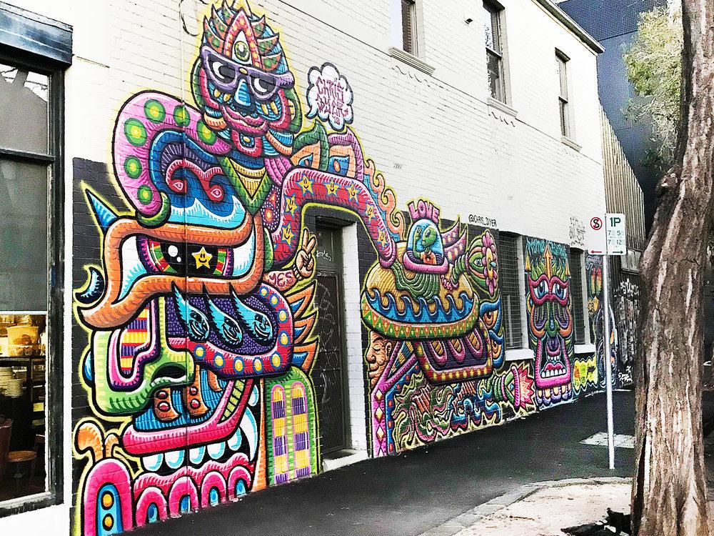 July 2018 - Collingwood, Melbourne - Artist :  Chris Dyer
