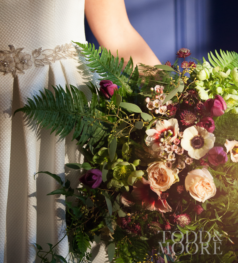 Bridal bouquet, Paragon floral design