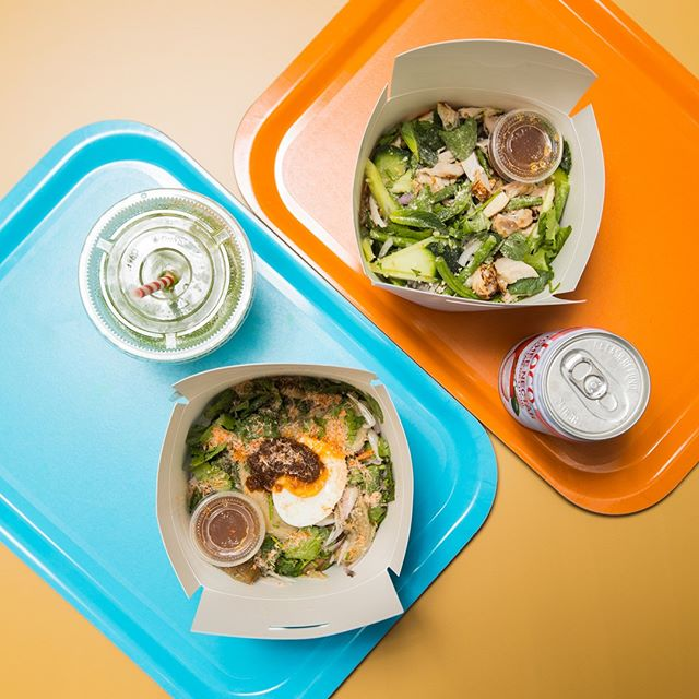 We're Tuk'in hungry for these salads, are you? 👀 . . . #healthyliving #fitfam#organic #eatnatural #instajuice#instafood #instagood #nutritious#drinkporn #foodgram #feedfeed #foodporn #f52grams #buzzfeedfood #foodstagram #justgoshoot #abc7eyewitness #huffposttaste #zagat #flashesofdelight #tukshoplondon #thaifood #thai #westendlondon #glutenfree #vegan #freefromfood #foodie #f52