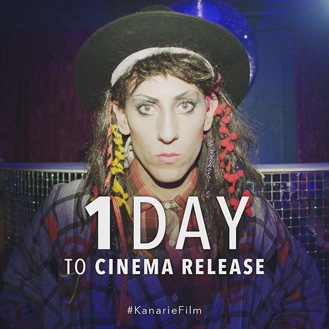 Nog net een dag om te gaan. Ons hoop julle het reeds kaartjies bespreek vir die eerste naweek van #KanarieFilm!!