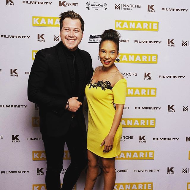 Throwback Thursday to our Joburg premiere 2 weeks ago! Too much fun! #tbt #throwbackthursday #moviepremiere #kanarie #kanariefilm #safilm #sacelebs