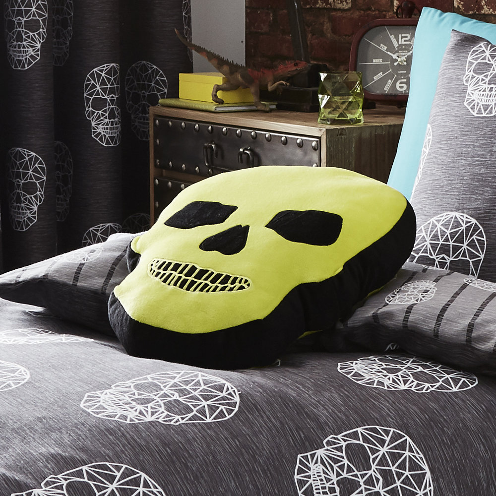 SKULLS SHAPED CUSHION